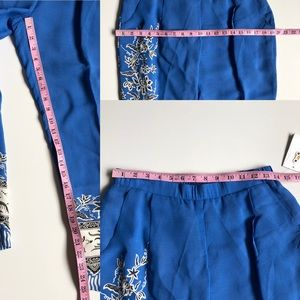 Anthropologie Pants & Jumpsuits - Anthropologie Leifnotes Blooming Perennial Pant 6